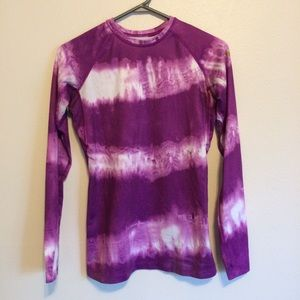 Nike Pro Tie Dye Long Sleeve Thermal Top